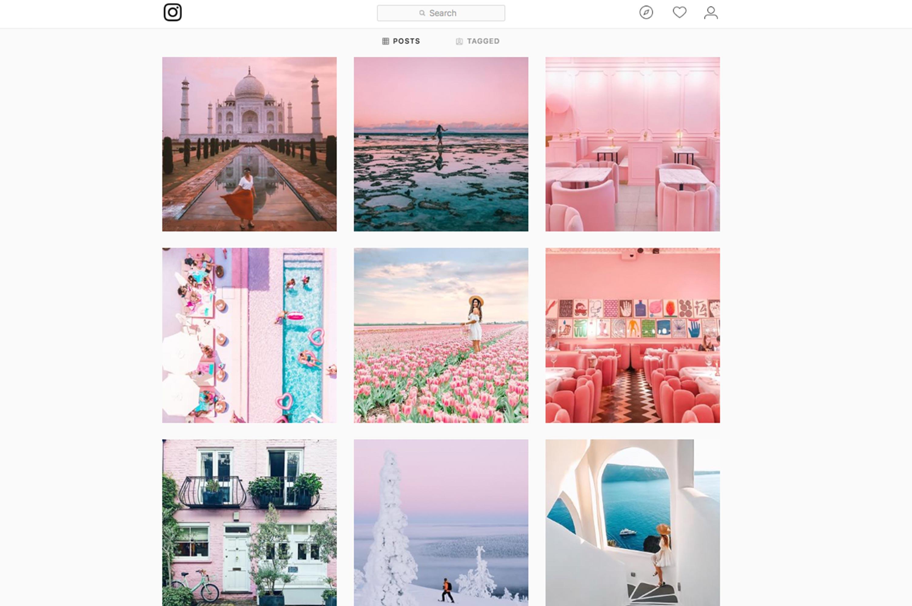 STA travel social media