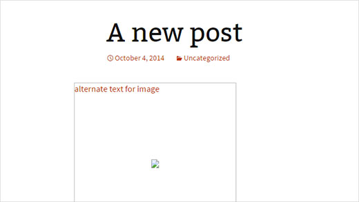 screenshot of a web page with no alt text on image