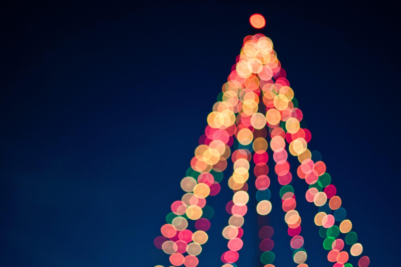 Christmas image of a tree