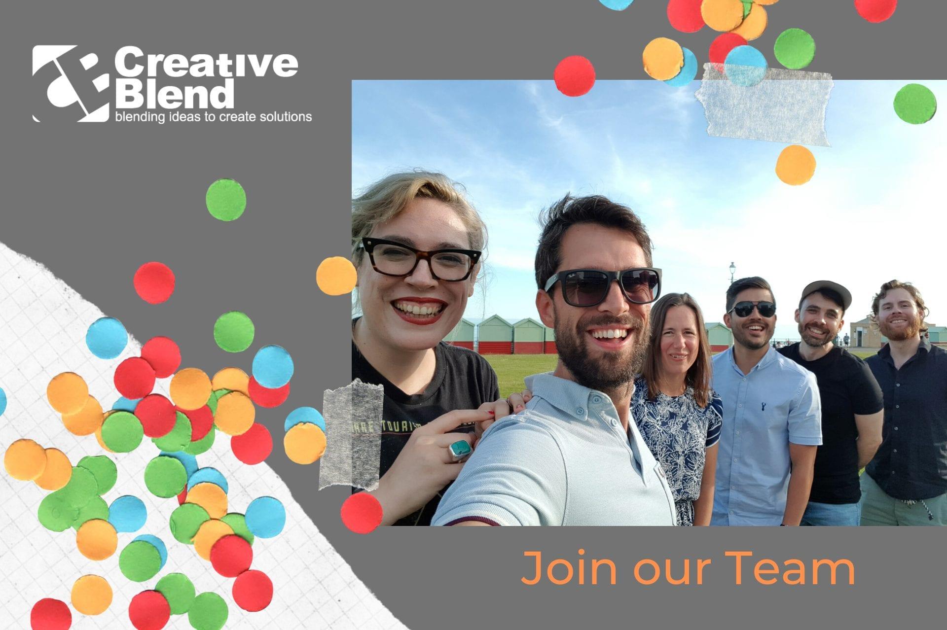 Creative Blend flyer