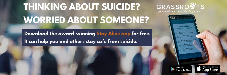 Grassroots Suicide Prevention app