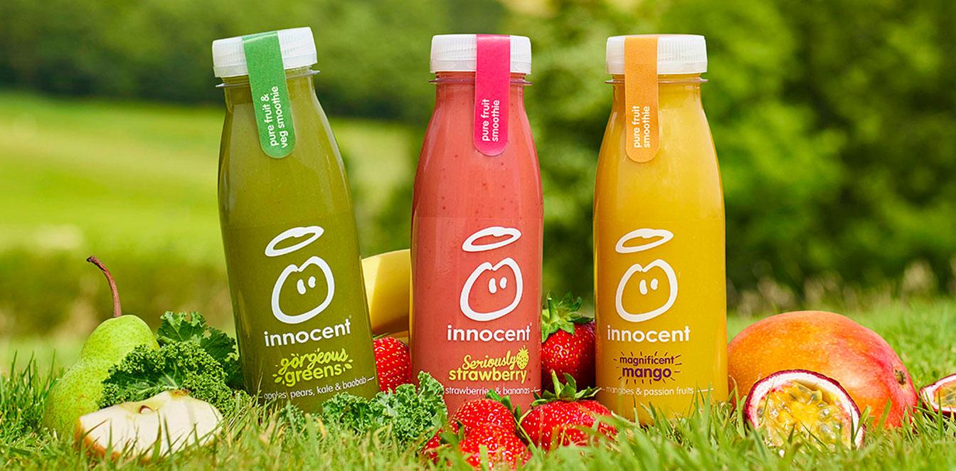 Innocent smoothie bottles