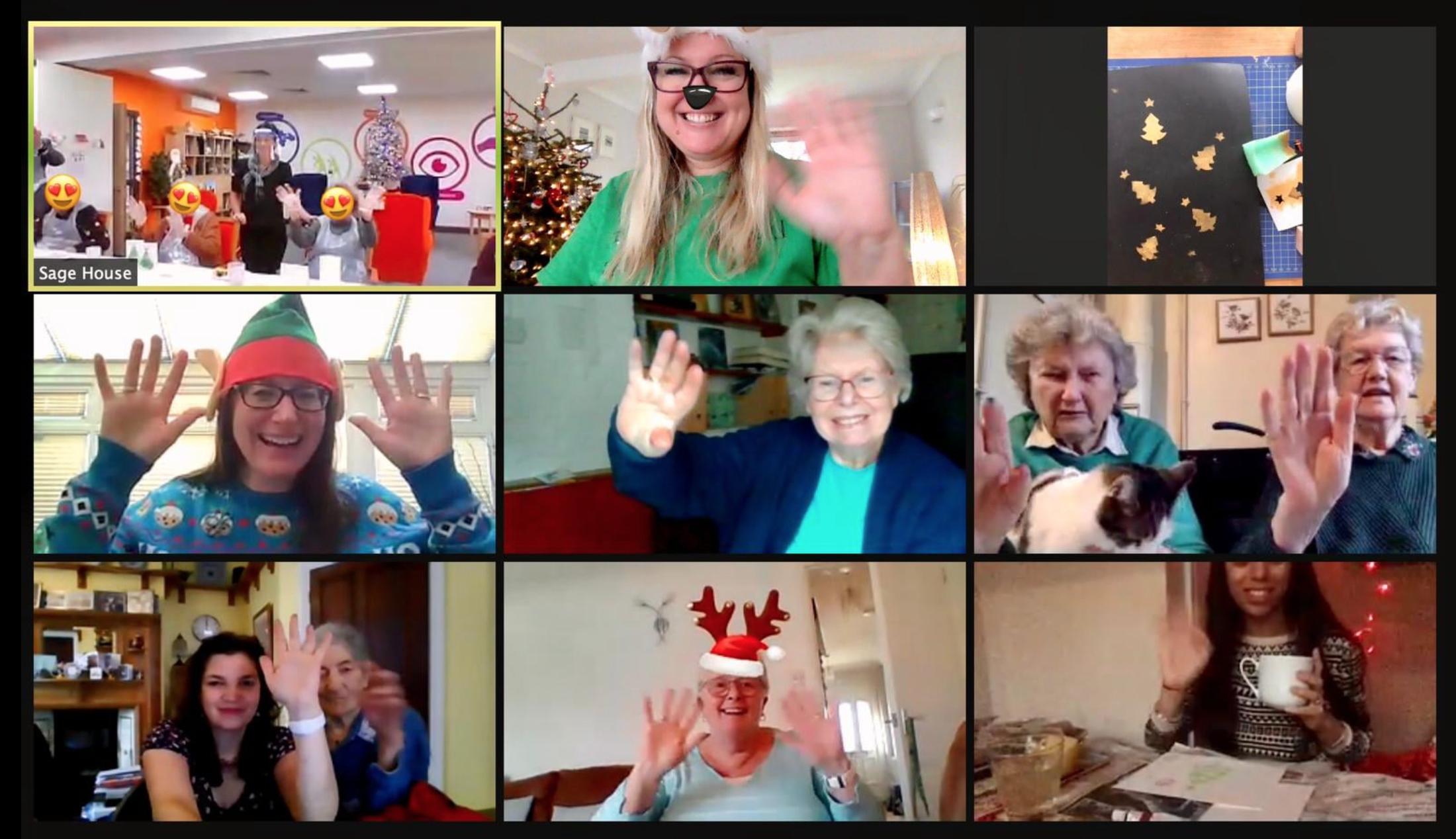 Dementia Support East Sussex zoom screenshot