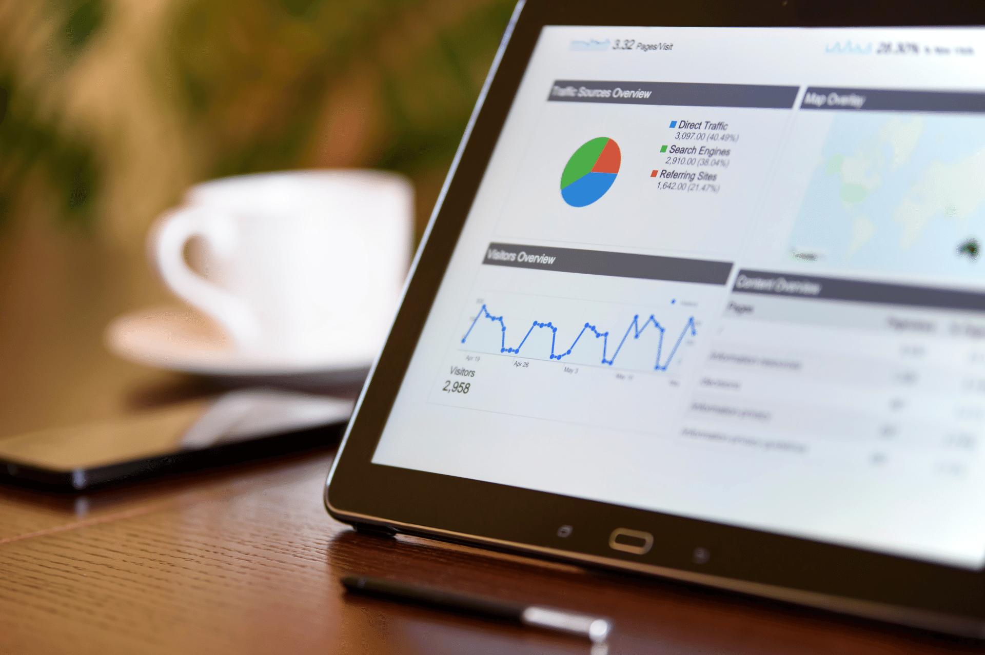 google analytics on an ipad
